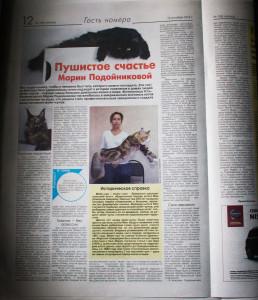 кошки усть-каменогорск, статья